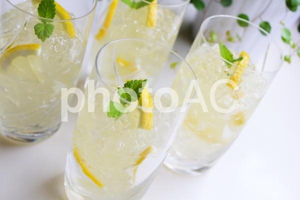 レモンゼリーの写真