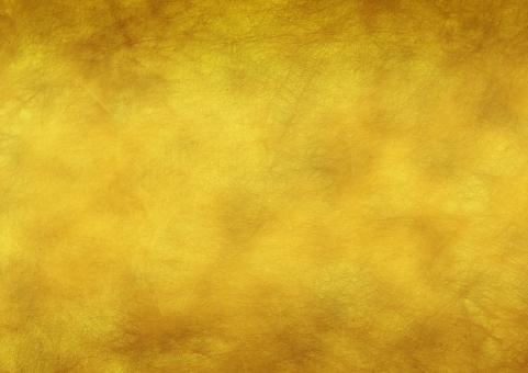 金色の紙 和紙風 テクスチャの写真