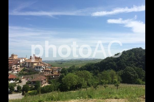 ピエモンテの景色の写真