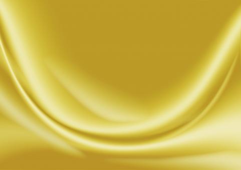 サテンの布背景_ゴールドの写真