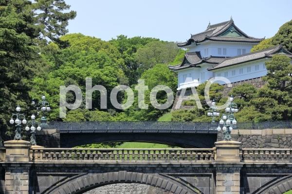 皇居二重橋の写真