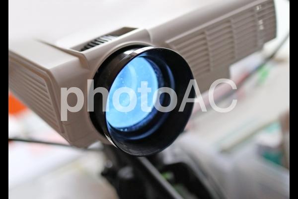 プロジェクターのイメージの写真