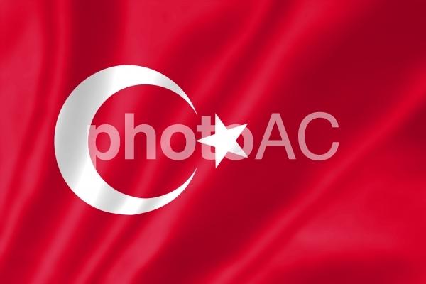 トルコ国旗の写真