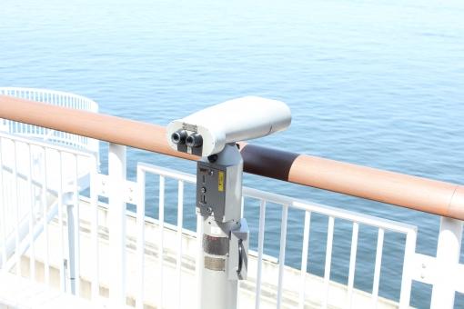 双眼鏡 望遠鏡 海 うみほたる 東京湾