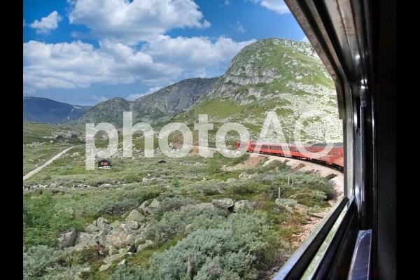 ノルウェーの鉄道 旅行 2の写真