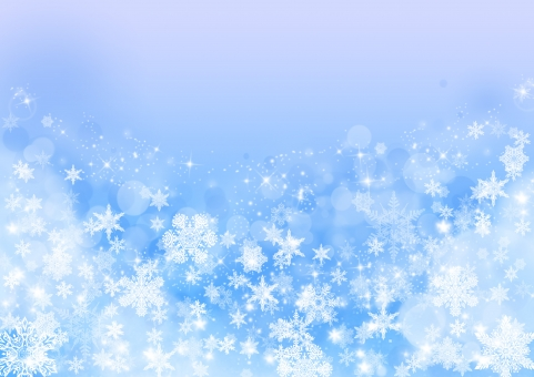 雪の結晶テクスチャー_ペールブルーの写真
