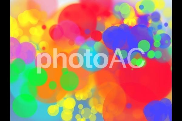 カラフル水彩テクスチャ1の写真