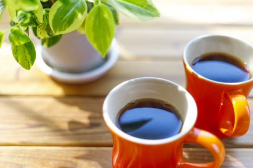 コーヒーカップの写真