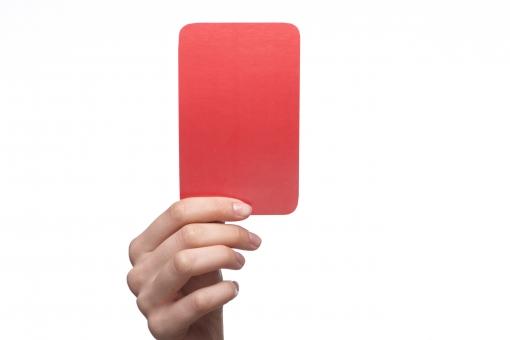 レッドカードの写真素材|写真素材なら「写真AC」無料(フリー ...
