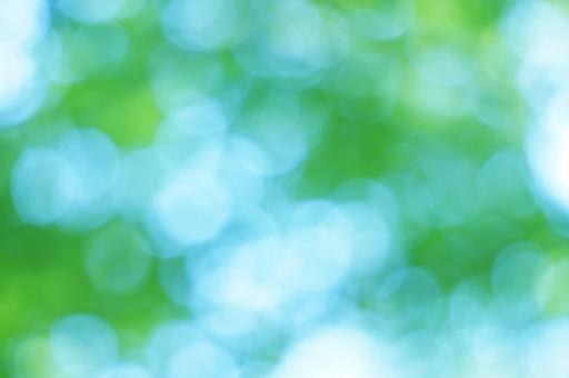 キラキラ 青緑の写真