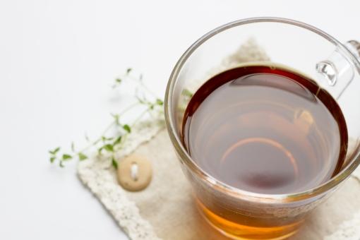 ミントティー ミント ハーブ ハーブティー ハーブティ 飲み物 お茶 紅茶 リネン コースター 葉 草 レモンタイム 癒し 健康 美容 リラックス リフレッシュ