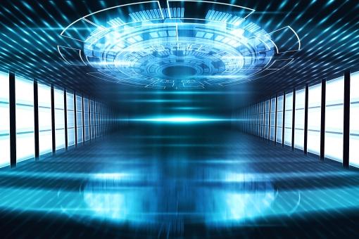 サイバー空間の写真
