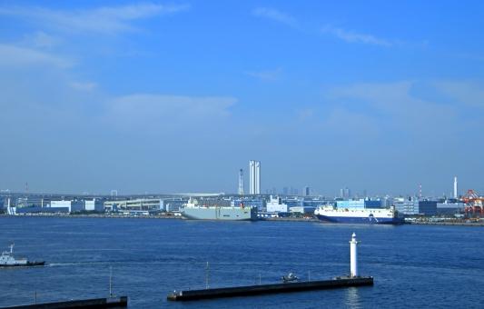 港の町の写真