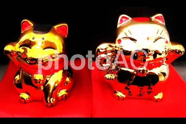 招き猫貯金箱2の写真
