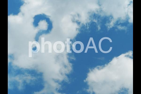 空と雲121の写真