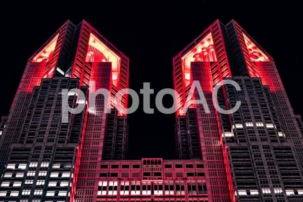 都庁 東京アラートの写真