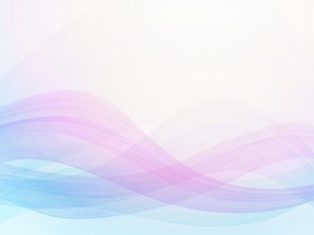 青紫のウェーブグラデーション背景素材テクスチャの写真