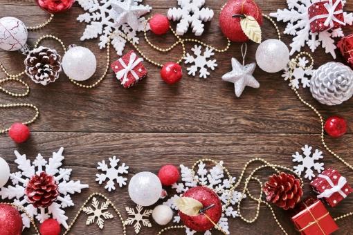 クリスマス フレームの写真
