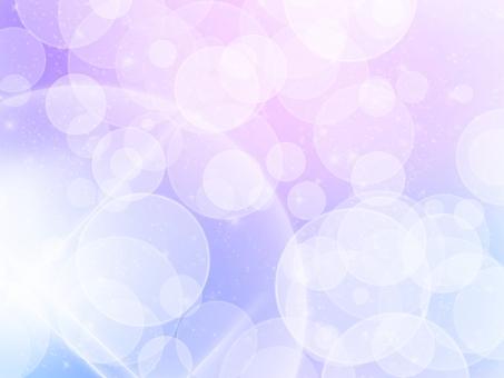 柔らか やわらか さわやか 爽やか 穏やか おだやか 光 ひかり ふんわり 淡い パステル カラー グラデーション 紫 青 ピンク 水玉 みずたま ほんわか 優しい やさしい リラックス 落ち着く 心 ゆっくり のんびり テクスチャ 壁紙 背景 メッセージ