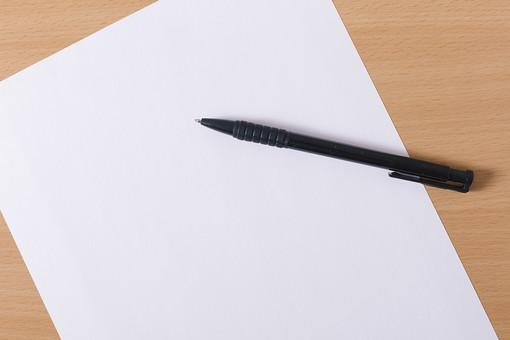 ビジネス デスク 文房具 オフィス 事務用品 デスクワーク ビジネスアイテム 文字 仕事 筆記用具 ノート メモ 記入 紙 用紙 ペン ボールペン 文房具 文具 テーブル 机 白紙 記録 メッセージ ペーパー