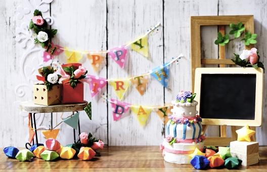 お誕生日の写真