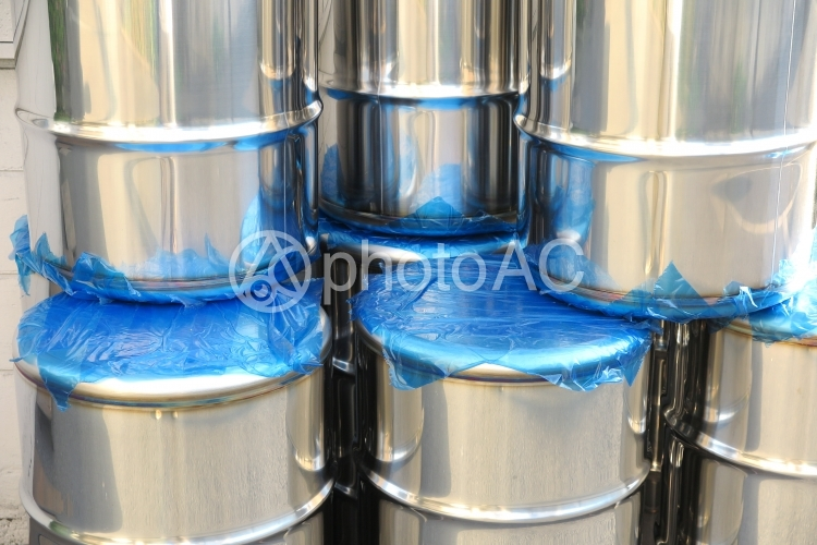 ドラム缶の写真