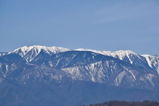 常念山脈の写真素材 写真素材な...