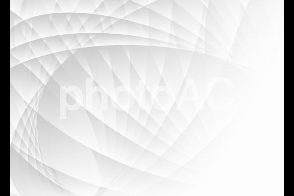 モノトーンの流線型抽象背景素材の写真
