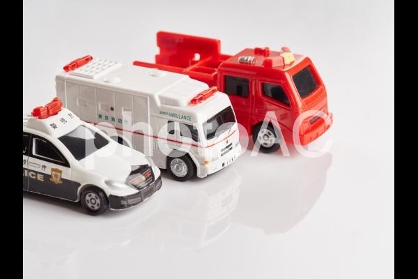 緊急車両のイメージの写真