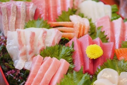 和食イメージ お刺身の写真