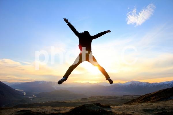 飛躍の写真
