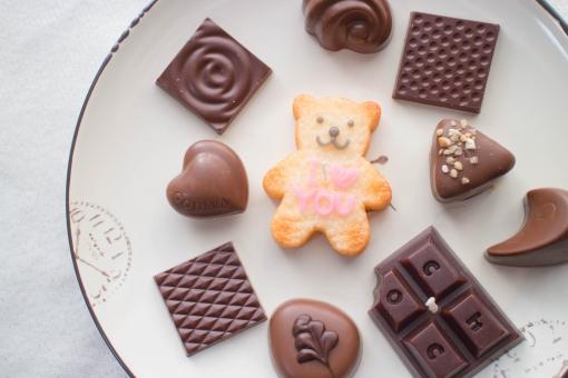 チョコレートキャンドルの写真