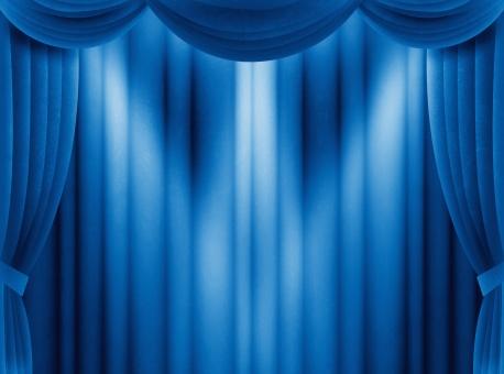 カーテン 幕 緞帳 ステージ 舞台 発表 受賞 アワード 表彰 記念 スペシャル 特別 豪華 ゴージャス 荘厳 重厚 布 背景 バック ライト スポットライト ピンライト 照明