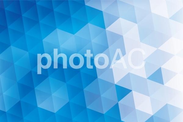 青の六角形抽象背景テクスチャ素材の写真