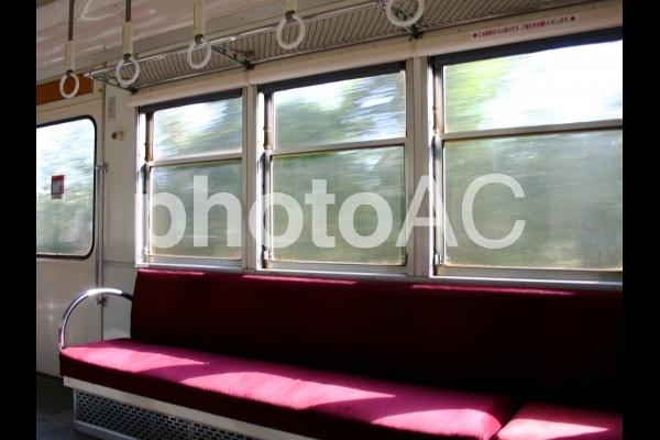 車窓の写真