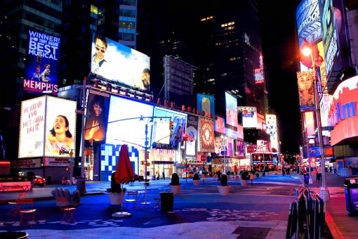 ニューヨークの都市風景の写真