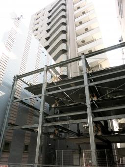 東京 品川区 tokyo 16 高層マンション ビル 駐車場 自動車 立体 カーポート