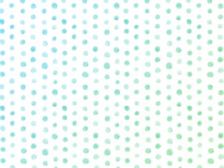 水彩 水彩画 絵の具 水彩絵の具 筆 ラフ フリーハンド 柄 模様 テクスチャー テクスチャ 背景 バック バックグラウンド ハンドメイド 手書き 手描き 手作り 手作り感 ナチュラル ガーリー かわいい 子ども さわやか 爽やか すっきり シンプル トレンド マリン 夏 明るい イメージ ドット ドット柄 水玉 水玉模様 グラデーション 青系 ブルー系 寒色 緑 グリーン 初夏 新緑 清々しい