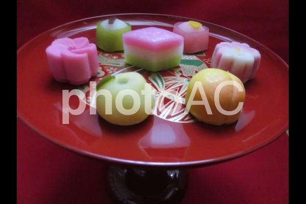 ひなまつりのお菓子の写真
