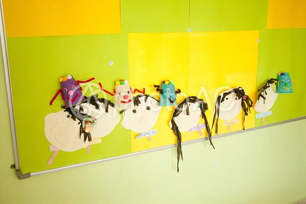 海外の子供作品の写真