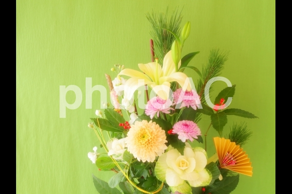 正月花の写真