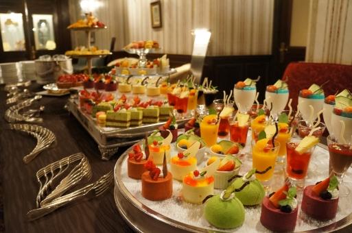 ケーキ スイーツ 食べ放題 結婚式 ビュッフェ パーティー 宴会 デザート アイス