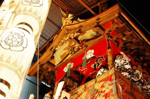 夏 京都 夏祭り 祇園祭 山鉾 日本三大祭 山車 祭囃子 まつり 四条 鉾 お囃子 日本の祭り 日本の伝統行事 夏祭 浴衣祭