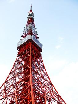 東京 東京タワー タワー 空 港区 シンボル 鉄塔 展望台 東京都 ランドマーク
