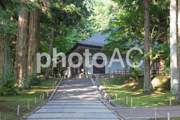 平泉 中尊寺 新覆堂の写真