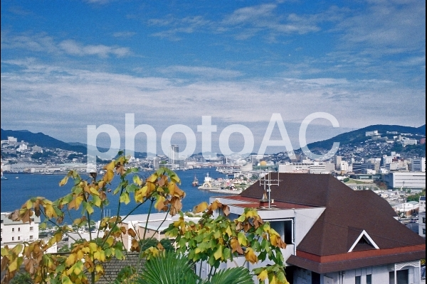 長崎港の眺望の写真