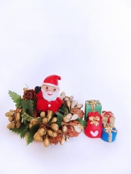 サンタクロース サンタ クリスマス Xmas プレゼント リース 12月 冬 イベント クリスマスプレゼント