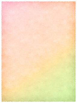 和紙 テクスチャ テクスチャー 壁紙 背景 背景素材 紙 ペーパー 和風素材 和風 前面 一面 日本 和 バックグラウンド コピースペース テキストスペース クラフト パターン 工芸 伝統 模様 桃色 ピンク グラデーション 繊維 手すき グラデーション ピンク 桃色 肌色 ベージュ 黄 黄緑 枠 縁 フレーム 優しい 暖かい カラフル