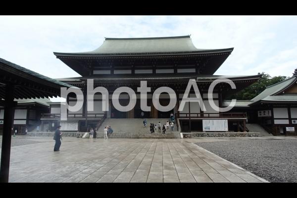 成田山新勝寺本堂の写真