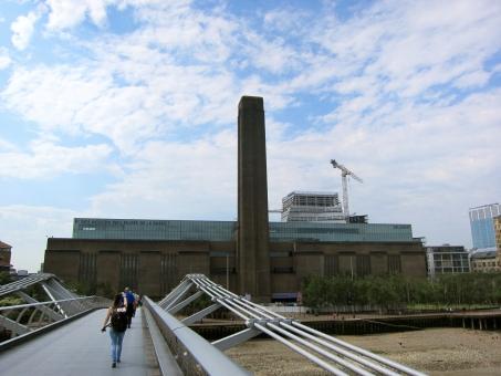 テートモダン テート・モダン 美術館 tate modern art museum ロンドン london イギリス england millennium bridge ミレニアム・ブリッジ